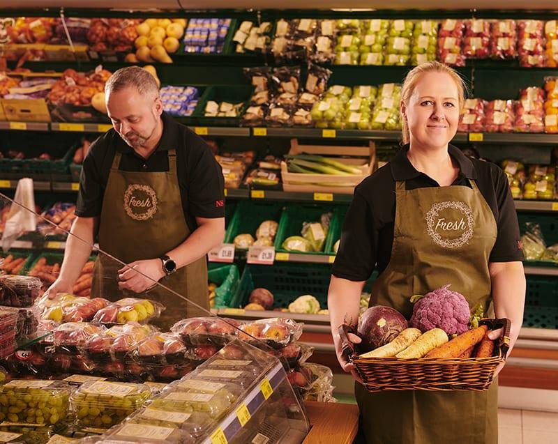 Modern Supermarket Uniform