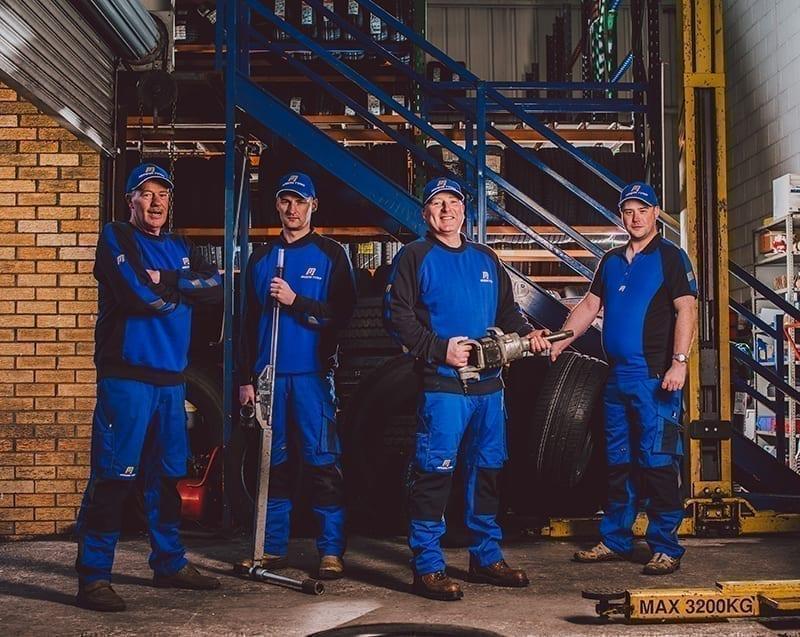 Modern Tyres Staff uniform