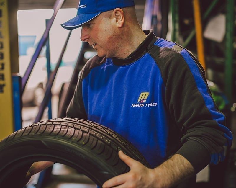 Modern Tyres Service Uniform