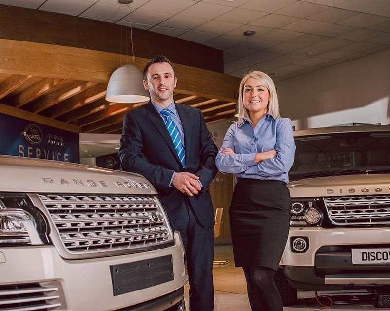 Land Rover Sales Uniforms