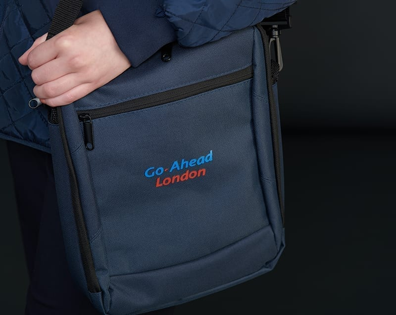 Embroidered Branded Bag