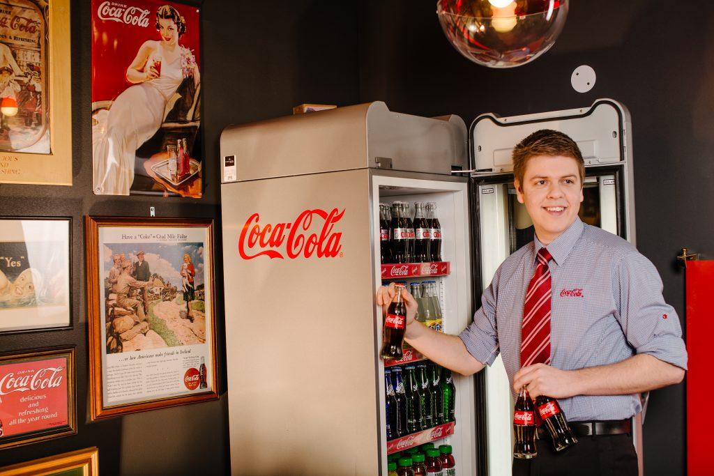 Coca-Cola corporate uniform