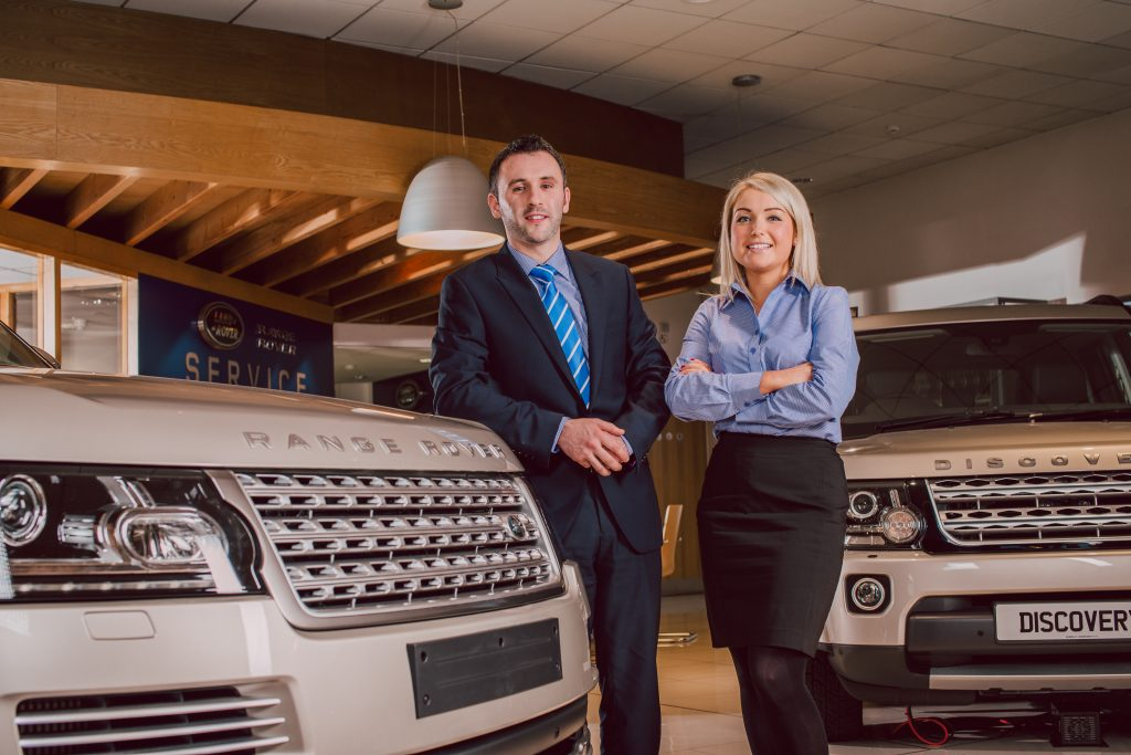 Landrover uniforms reflect luxury brand
