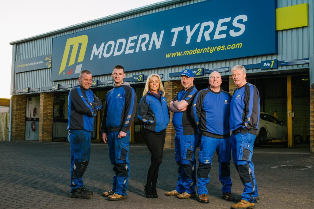 Modern Tyres comfortable and stylish uniform