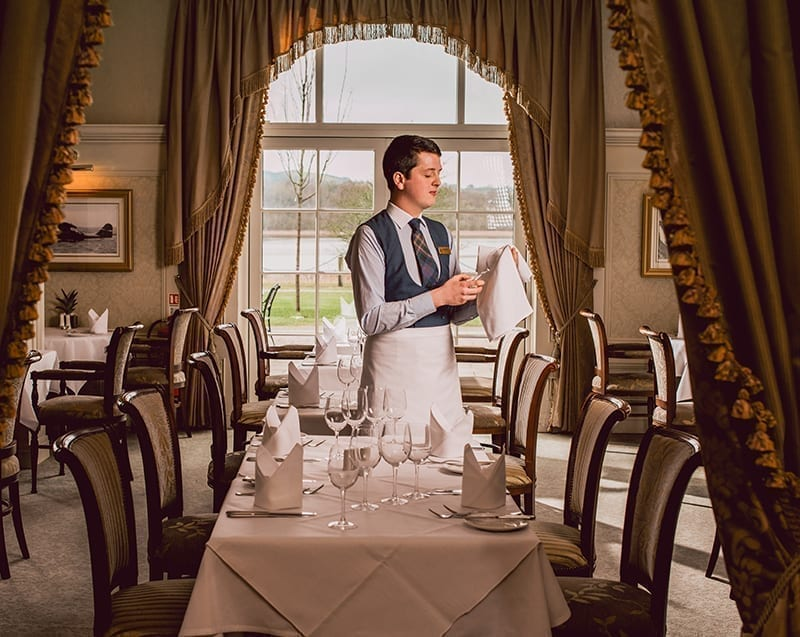 Lough Erne Resort Hospitality Uniform