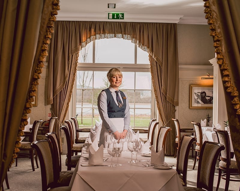 Lough Erne Hospitality Uniform