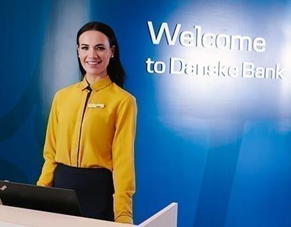 Danske Bank modern uniform