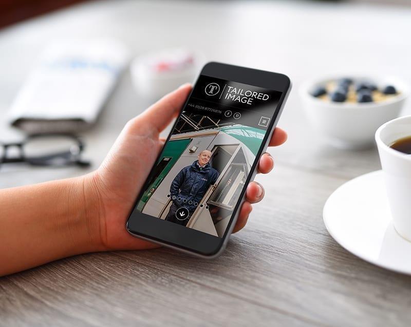 Mobile online ordering portal