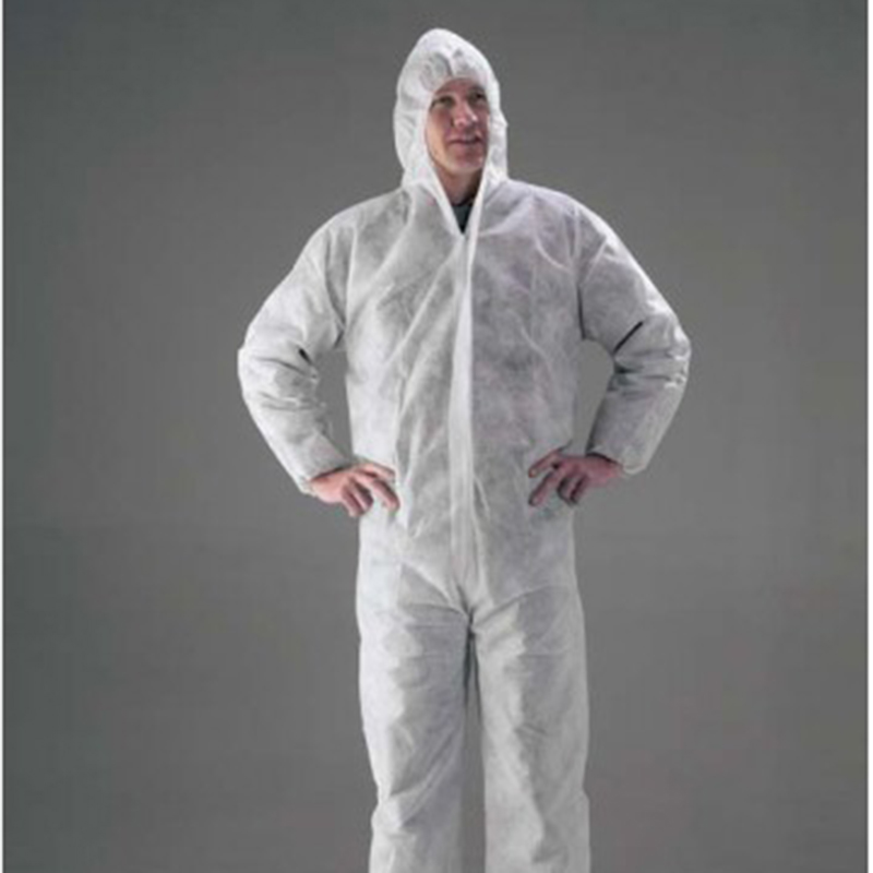 White Disposable Suit