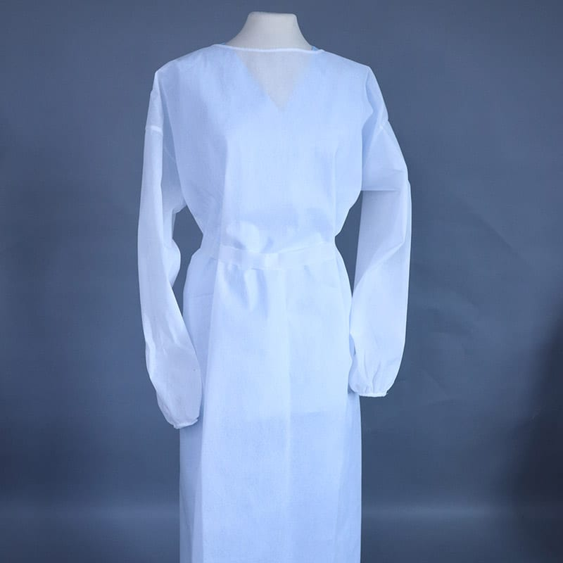 White Disposable Gown