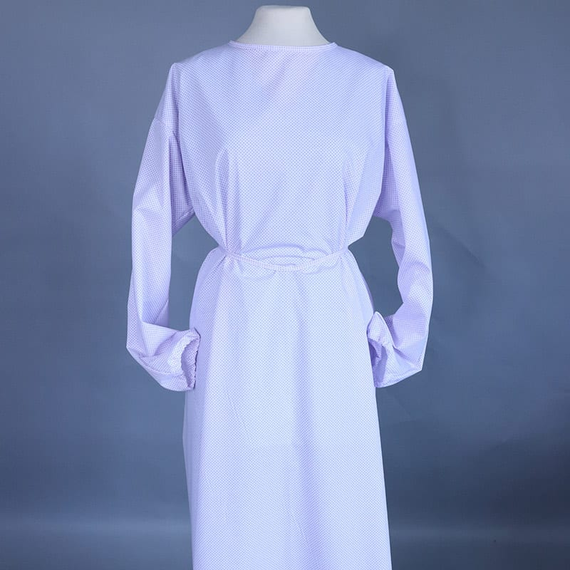 Machine Washable Long Sleeve Gown