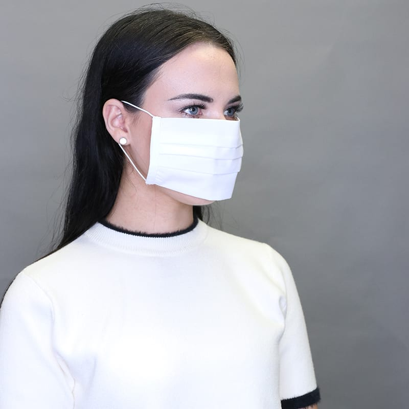 White 2 Ply Mask