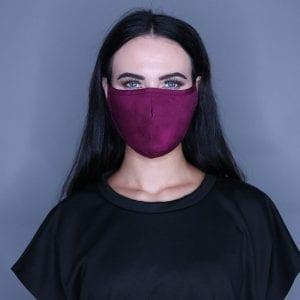 Burgundy Mask