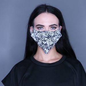 Butterfly Print Mask