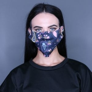 Paisley Print Mask